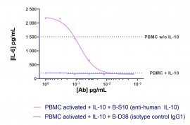 Anti-Human IL-10 Azide Free